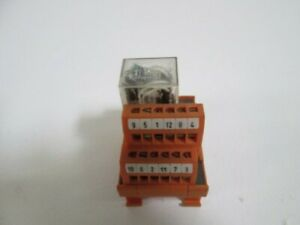 Weidmuller Relay Socket Rs14a used