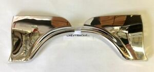 63 1963 Chevy Impala Fender Skirt Stainless Scuff Pads Trim