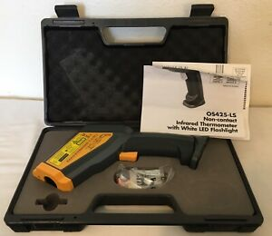 Omega Os425 ls Non Contact Infrared Thermometer W White Led Flashlight