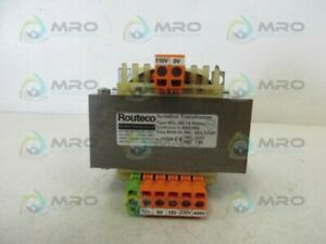 Routeco Mcl200 Isolation Transformer Used
