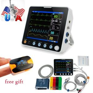 6 parameters Medical Dental Patient Monitor Icu Ccu Hospital Vital Signs Monitor