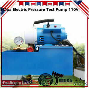 Dsy 25 Electric Pressure Test Pump 3 0l min Hydraulic Piston Testing Pump 2 5mpa