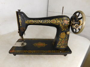 1915 Working Antique Singer 66 Sewing Machine Head G4029240 Heavy Duty Decals