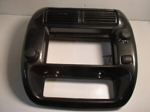 Ford Ranger Explorer Radio Bezel Ac Heater Vent Trim Black And Silver 24