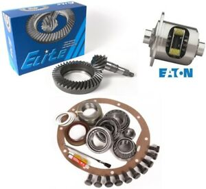 65 72 Gm 8 875 Chevy 12 Bolt Car 4 56 Ring And Pinion Eaton Posi Elite Gear Pkg