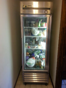 True Commercial Glass Door Refrigerator Model T 23g Excellent Condition