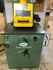 Mikron Multi moulder With Tilting Spindle Model M645 Used Good Condition