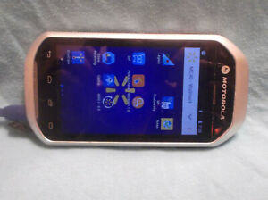 motorola Zebra mobile Computer Android Bar Code Scanner working