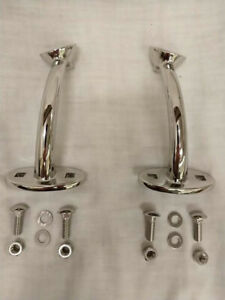 Stainless Hot Rod Hiboy Headlight Stands 1928 1929 1930 32 33 34 Ford Ss Mounts