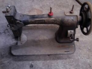 Vintage White Rotary Sewing Machine Needs Pedal