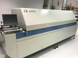 Manncorp Cr 6000 6 Zone Smt Reflow Oven Great Condition