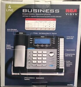 Rca 25425re1 New Business 4 Line Up To 16 Expandable W digital Answering System