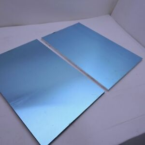 375 Thick 3 8 Precision Cast Aluminum Plate 12 x 24 Long Qty 2 Sku136828