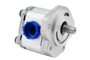 Hydraulic Gear Pump 5 22 Gpm 7 8 Keyed Shaft Sae B 2 Bolts Ccw Aluminium New
