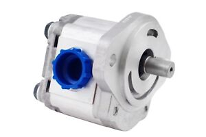 Hydraulic Gear Pump 6 28 Gpm 7 8 Keyed Shaft Sae B 2 Bolts Cw Aluminium New