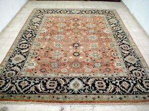 9x12 Brand New Breathtaking Hand Knotted Wool Salmon Tabrizz Design Oriental Rug