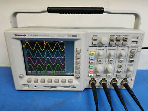 Tektronix Tds3014b 100 Mhz 1 25gs s 4 Channel Oscilloscope Tested