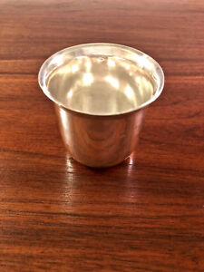 Beautiful French 18thc 950 Sterling Silver Beaker Cup Excellent Condition
