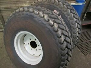 Used Ford 1320 1520 1620 1715 1720 Compact Tractor Turf Tires With Rims