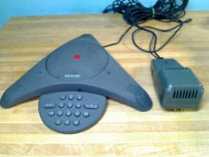 Polycom Soundstation 2201 03308 001 G Conference Phone W Premier Wall Module