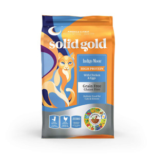 Solid Gold Indigo Moon High Protein Grain free Holistic Dry Cat Food For
