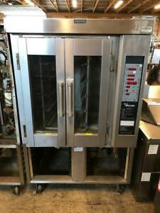 Baxter Mini Rotating Rack Convection Bakery Oven Natural Gas Ov300g 95 000 Btu