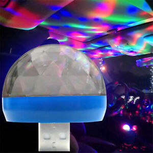 New Usb Rgb Led Neon Atmosphere Ambient Music Car Interior Light Control Lamp