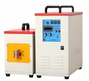 High Frequency Induction Heater Furnace Lh 40ab 40 Kw 30 80 Khz