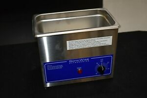 New Sonicwise Sw 34 Dental Ultrasonic Cleaner Bath For Instrument Cleaning