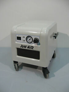 Jun air 87r 4p Oil Free Compressor Tested Working