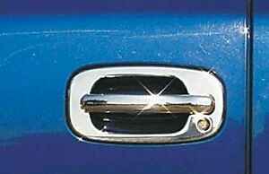 International Trim 408 Tailgate Handle Trim Chrome Fits Ford Focus