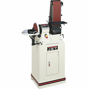 Jet Combination Belt disc Sander 3 4 Hp 6in X 48in Belt 9in Disc jsg 96cs