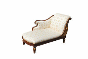 Mid 19th C French Empire Recamier