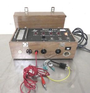 Multi amp Pow r safe B 2500 Tool Tester Excellent Condition
