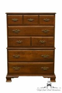 Kling Colonial Solid Cherry 35 Chest On Chest 31 5105