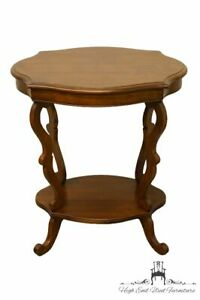 Hickory Chair Co Solid Cherry Entry Accent Table 8602 20 Cappuccino Finish