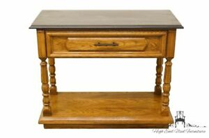 Thomasville Huntley Oak Country French 38 Entry Sofa Table 2121 520