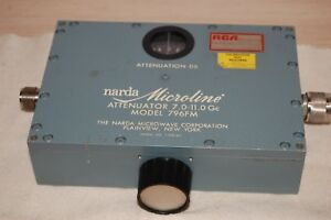 Narda Microline Model 796fm Attenuator 7 0 11 0 Gc