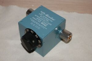 Narda Microline Model 5702 60 Step Attenuator Dc 12 4 Ghz
