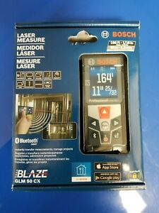 Bosch Glm 50 Cx Blaze 165 Bluetooth Laser Distance Measure New And Sealed