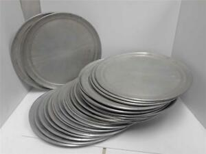 29 American Metal Aluminum Pizza Trays 14 Used good Shape