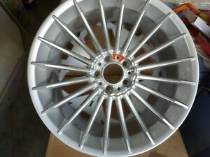New Authentic Bmw Alpina B7 Oem Factory Alloy Rear Wheels 21x10 41 Bbs Germany