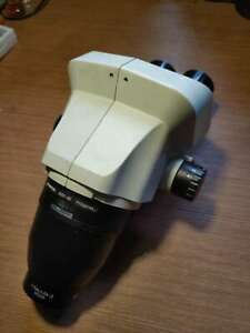 Olympus Sz61 Stereo Microscope Body original Wd200 Objective Lens Used Condition