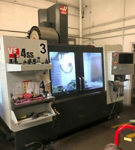 Haas Vf4ss 300 Psi Tsc 12 000 Rpm