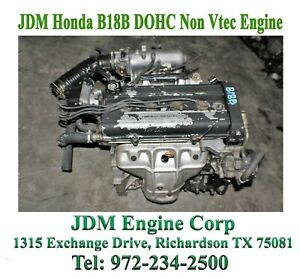 Acura Integra Engine Honda B18b Engine Jdm B18b Engine Integra Ls Engine 1 8l