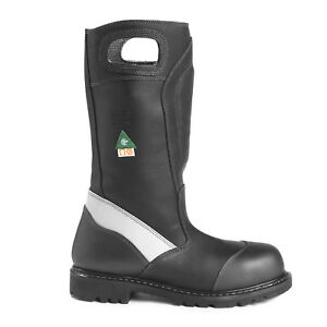 Fire Boot Nfpa 1971 Fire dex Fdxl 50 Leather Fire Boot Size 9