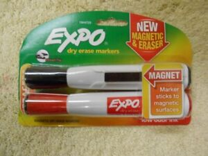 Expo Dry Erase Markers With Chisel Tip 8 Pack Lot Black And Red 16 Markers