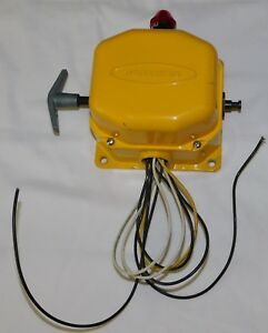 Rees Cable Operated Switch 04944 240 Heavy Duty slack Cable Style Emergency