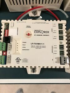 Lot Of 13 Controllers Lp fxvma11 1c Johnson Controls N2 used