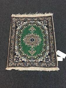 On Sale Fine Hand Knotted Persian Naein Naeen Wool Rug Carpet 2 X2 4